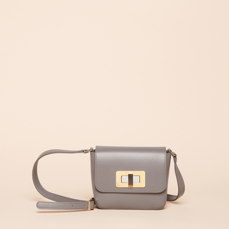 Gertrude mini nappa grey