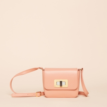 Gertrude mini nappa peach