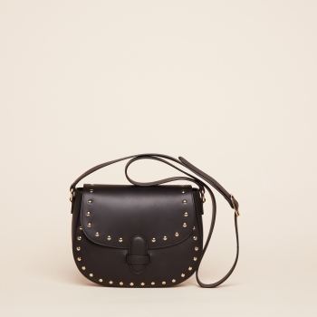 Marisa stud vegetal black