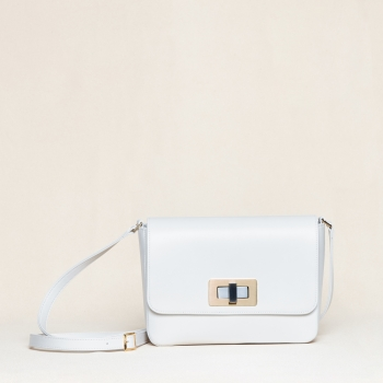 Gertrude medium nappa ivory