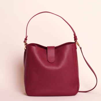 Samantha calf burgundy