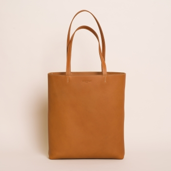 Margot vegetable zip cognac