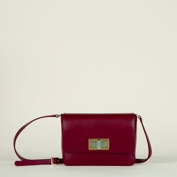 Gertrude medium burgundy