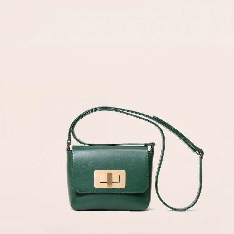 Gertrude mini nappa emerald