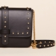 Amanda medium chain stud vegetable black