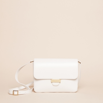Alix medium nappa white