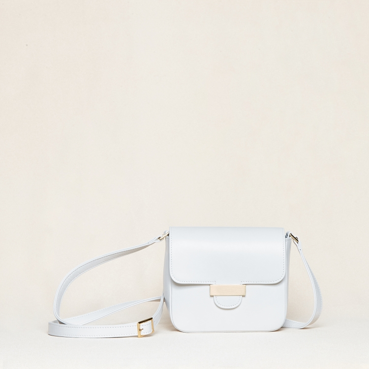 Alix mini nappa white