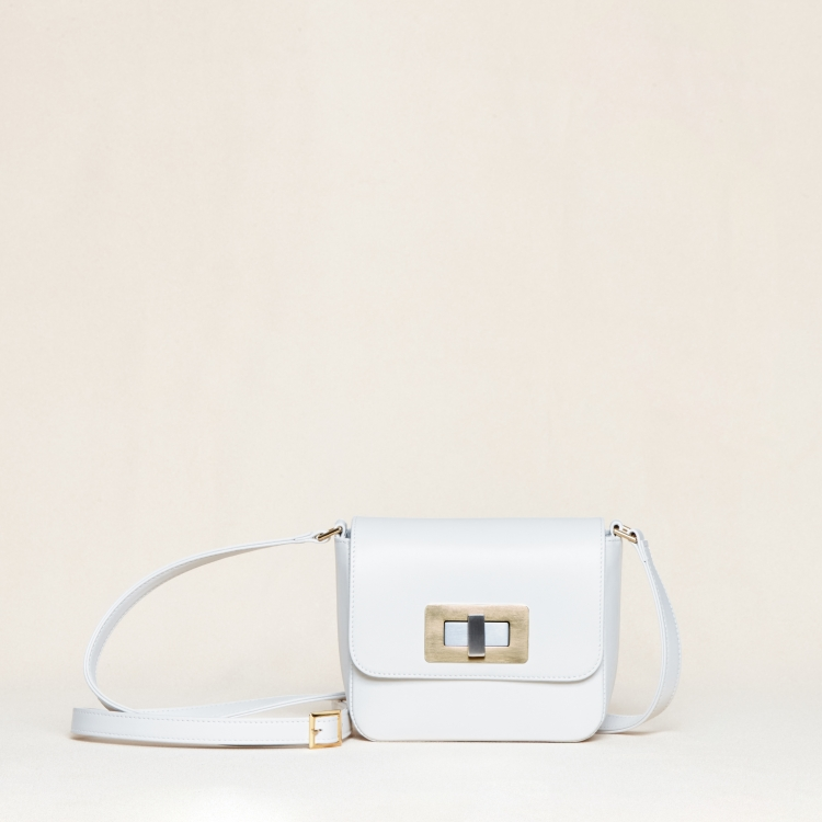 Gertrude mini nappa white